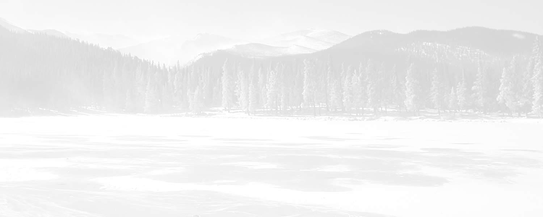 ice lake background fade