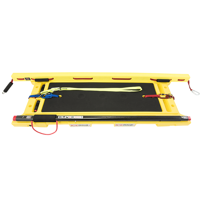 Ice Rescue Systems - Rapid Transport Sled with 9-1-1 RP and Ice Rescube