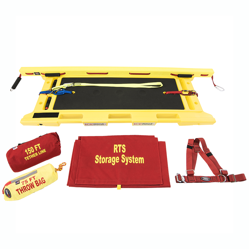 Ice Rescue Systems - Rapid Transport Extrication Sled Kit 2