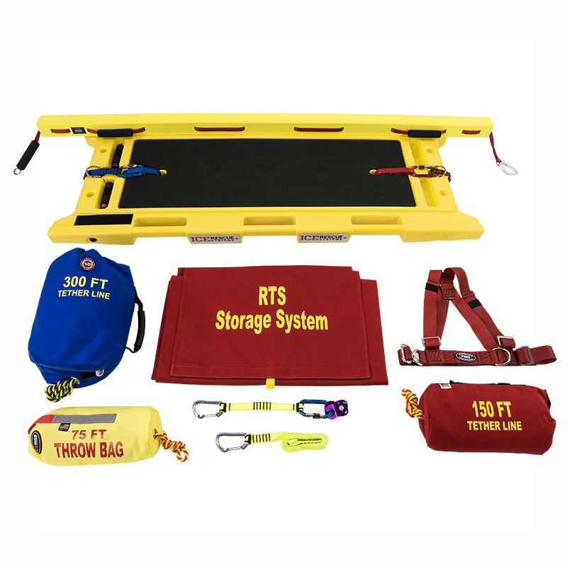 Ice Rescue Systems - Rapid Transport Extrication Sled Kit 3
