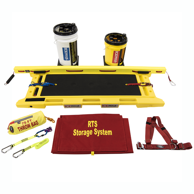 Ice Rescue Systems - Rapid Transport Extrication Sled Kit 4