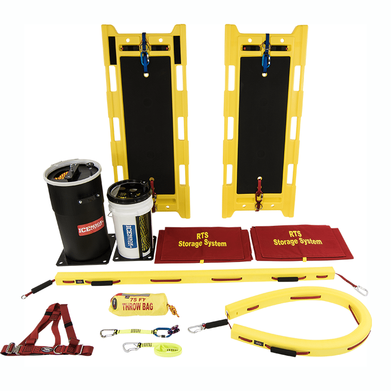 Ice Rescue Systems - Rapid Transport Extrication Sled Kit 6