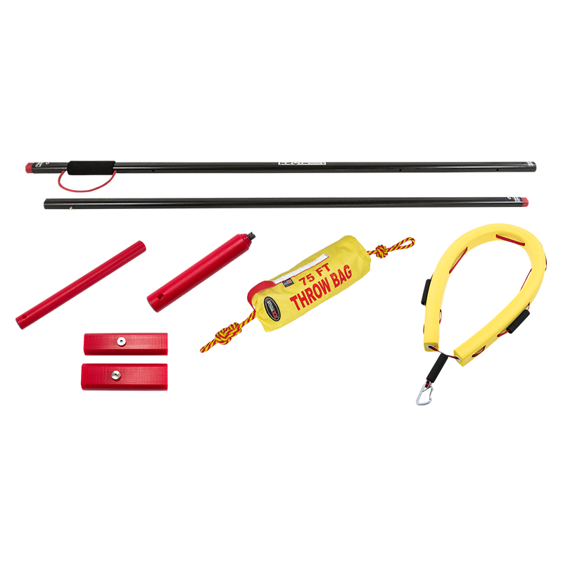 Ice Rescue Systems - Tactical Reach Pole Kit 1