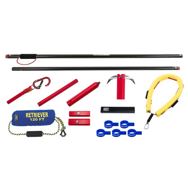 Ice Rescue Systems - Tactical Reach Pole Kit 3