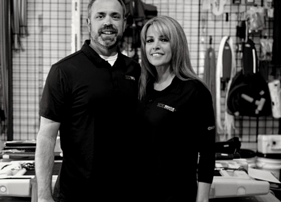 Husband and wife co-founders Bo and Becky Tibbetts are laser-focused on saving lives with innovative search-and-rescue gear.